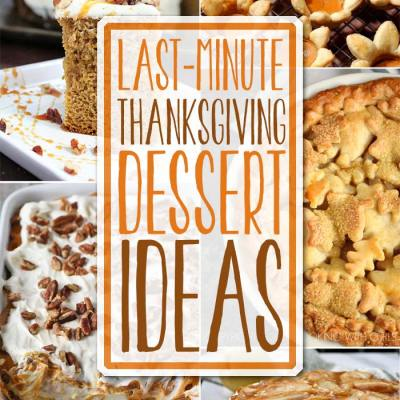 Thanksgiving Dessert Ideas
