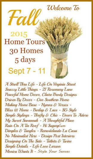 2015 Fall Tour with 30 bloggers over 5 days via Our Southern Home