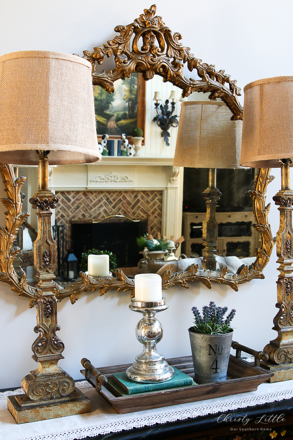 furniture and lamps