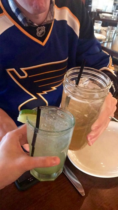 cheers to a Blues victory!