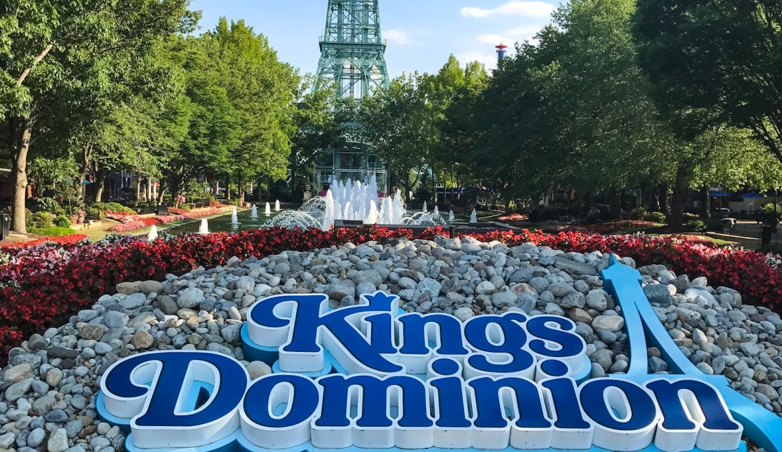 moving to the east coast has allowed us to go on a lot of new adventures some are relaxing at the beach some are hiking in new national parks - Kings Dominion Christmas