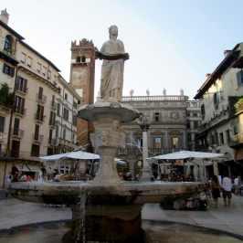 One day in Verona - Piazza delle Erbe