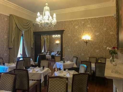 Herbet Restaurant at Cahernane House Hotel. A boutique hotel in Killarney, Ireland.