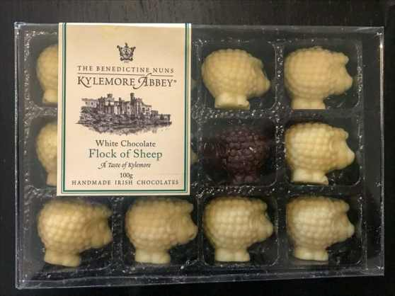 Flock of Sheep - Handmade Chocolates by Kylemore Abbey's Benedictine nuns
