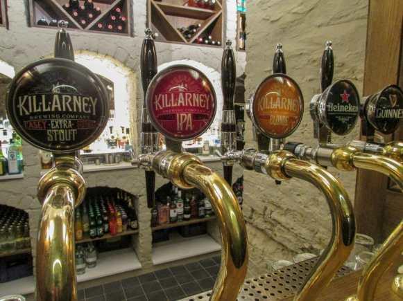 Killarney Beer - Cellar Bar at Cahernane House Hotel. A boutique hotel in Killarney, Ireland.