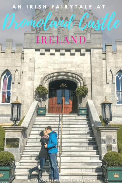 An incredible castle experience staying at Dromoland Castle. It was everything and more we could have ever asked for in an Irish fairytale. We enjoyed a five stare - five course dinner, clay shooting, falconry and more. It is the best castle hotel to stay at in Ireland. #Castle #CastleHotel #Ireland #DromolandCastle