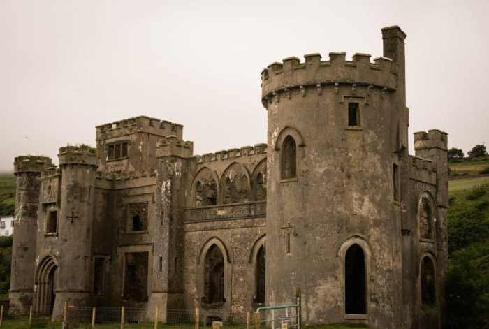 Clifden Castle - Donegal to Galway