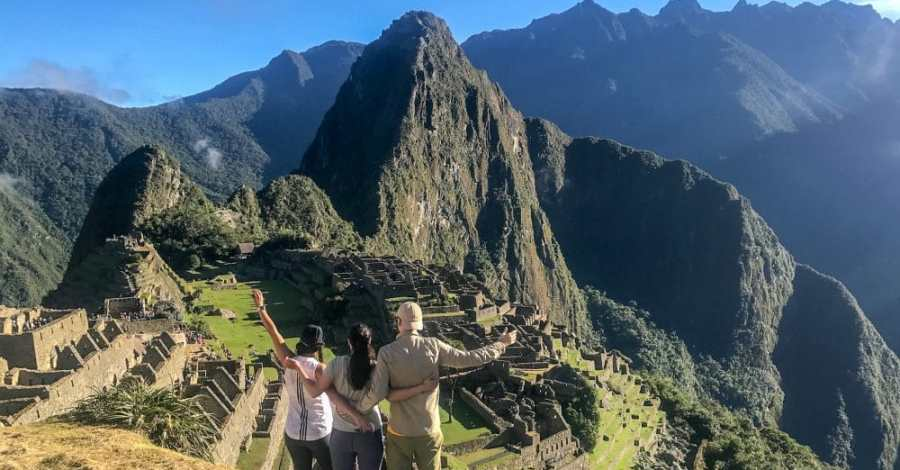 The glory of Machu Picchu after hiking the Inca trail t