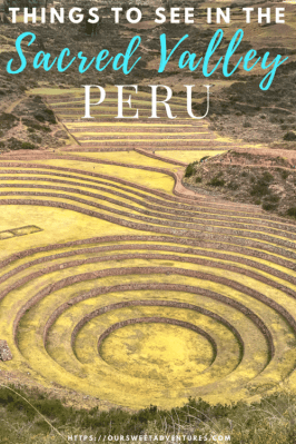 A guide of all the things to see in the Sacred Valley. #SacredValley #Peru #Cusco