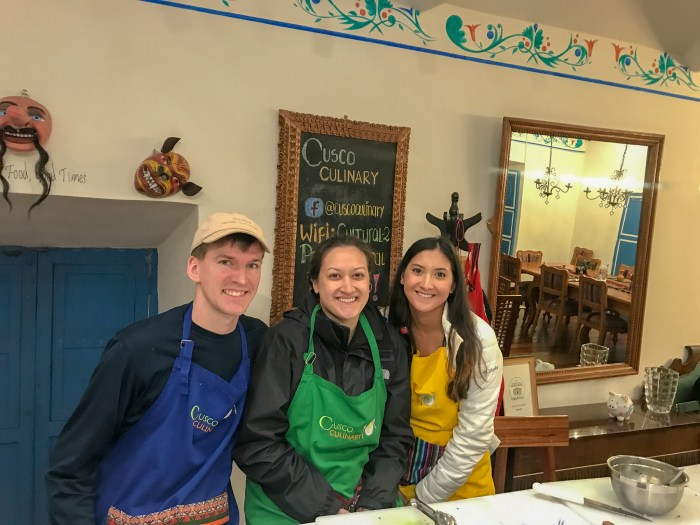 We had so much fun during our cooking in Cusco with Cusco Culinary. They were the best!