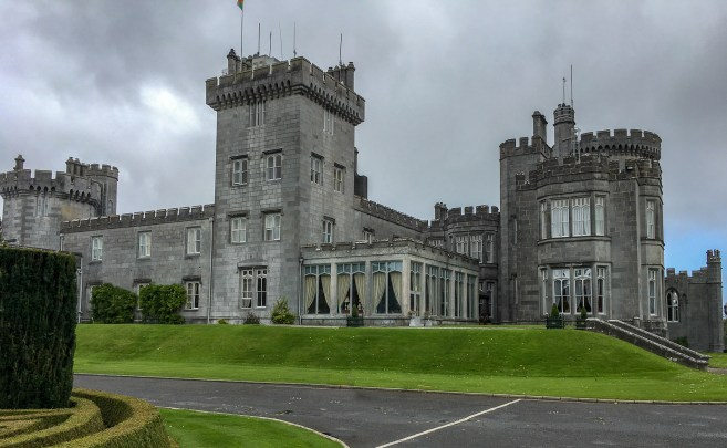 Dromoland Castle is not only a gorgeous castle in Ireland, but also one of the best castle hotels in Ireland. It is a beautiful five-star hotel with fine dining options and an array of fun outdoor activities to enjoy. A few favorites are falconry, clay shooting, golf, archery and more.