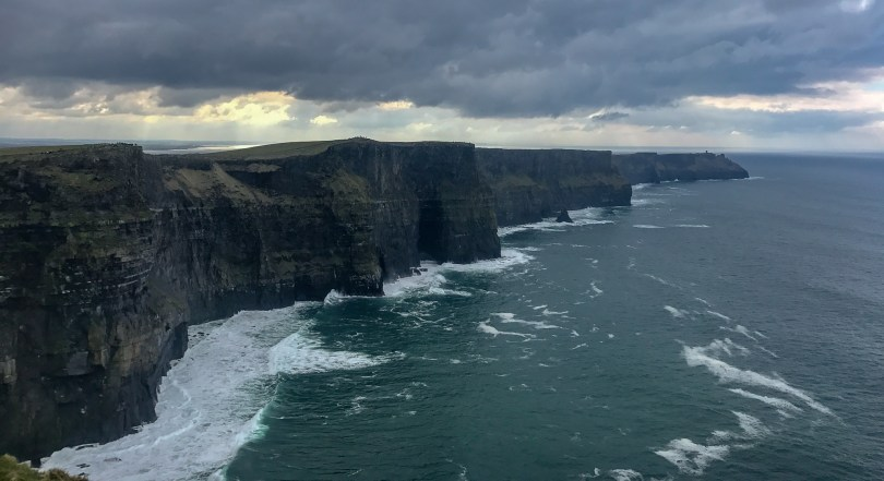 An Ireland itinerary is not complete without a trip to the Cliffs of Moher.