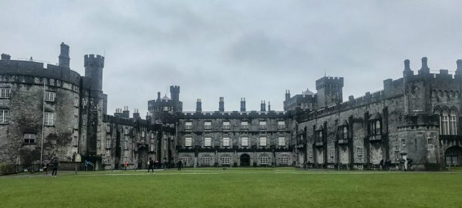 Kilkenny Castle is a beautiful restored castle in Ireland. The castle gives guests the opportunity to visit countless rooms including the magnificent picture gallery wing.