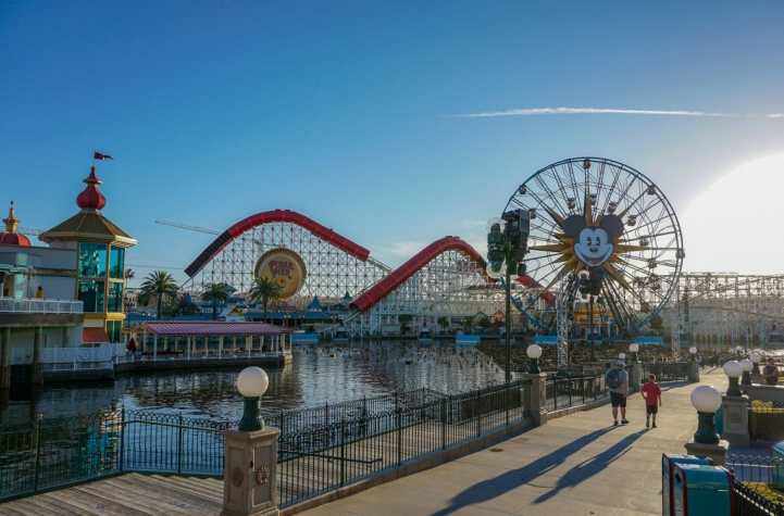 Pixar Pier at California Adventure Park is both stunning and fun!