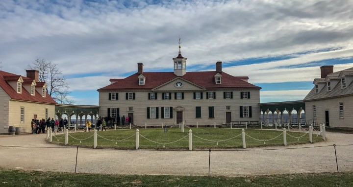 Mt. Vernon is a great, historical day trip from D.C. during any time of the year.