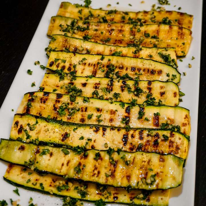 Italian Style Grilled Zucchini
