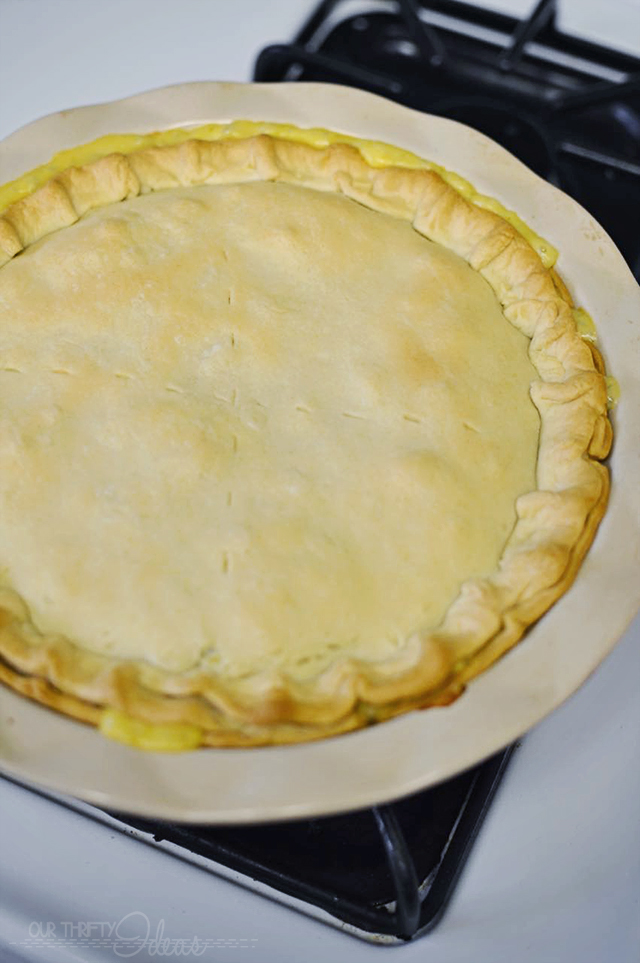 Easy Pot Pie that is great for freezing