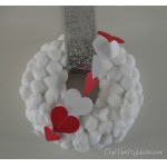 V-day up a wreath