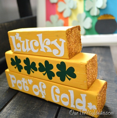 St Patricks Day stackable blocks tutorial