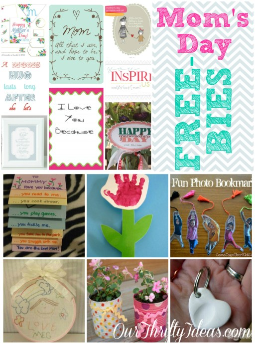 Mother's Day printables and projects