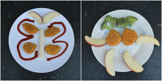 Playing with your food, way to make your toddler excited to eat lunch
