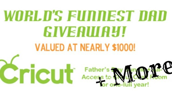 World's Funnest Dad Giveaway!!
