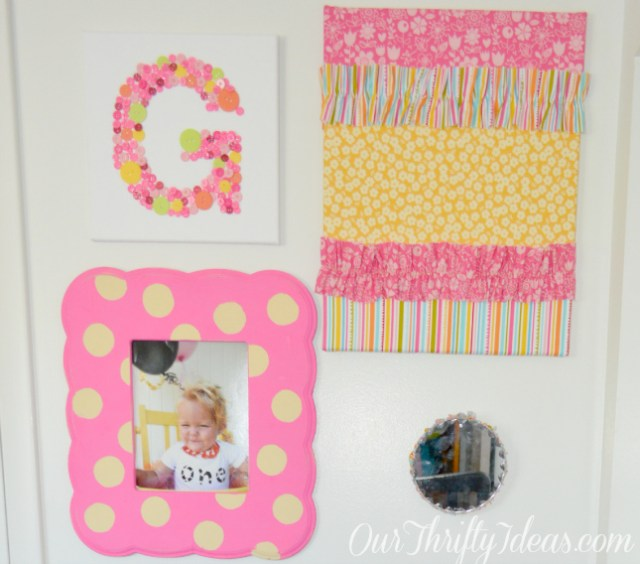 from Baby to Toddler Bedroom Decor at OurThriftyIdeas.com