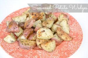 {Recipe} Seasoned Potato Wedges