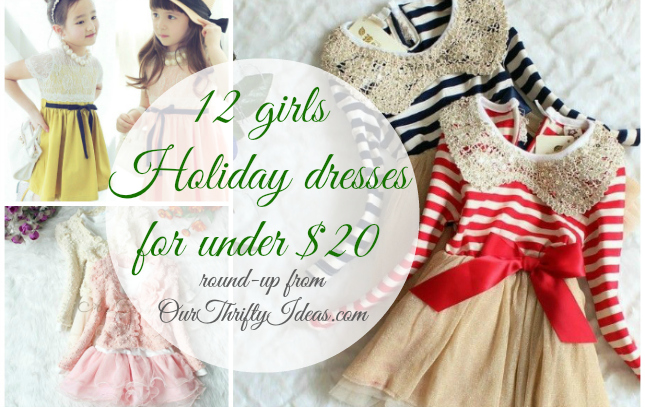 {Deal Shopping} Toddler Girl's Holiday Dress