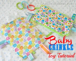 crinkle toy