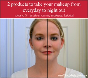 Mommy Makeup in 5 minutes