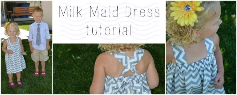 milk maid dress tutorial