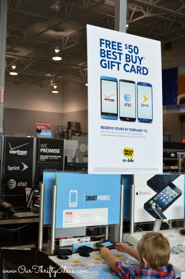 Smart phones for everyone at Best Buy | www.ourthriftyideas.com #OneBuyForAll #Shop #Cbias
