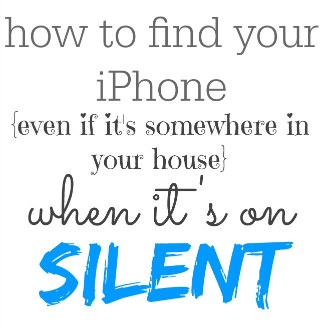 How to Find your lost iPhone even when it's on silent