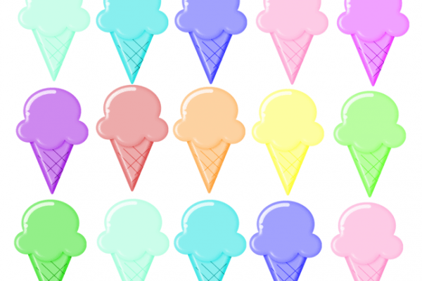 Ice Cream – Rainbow Printable