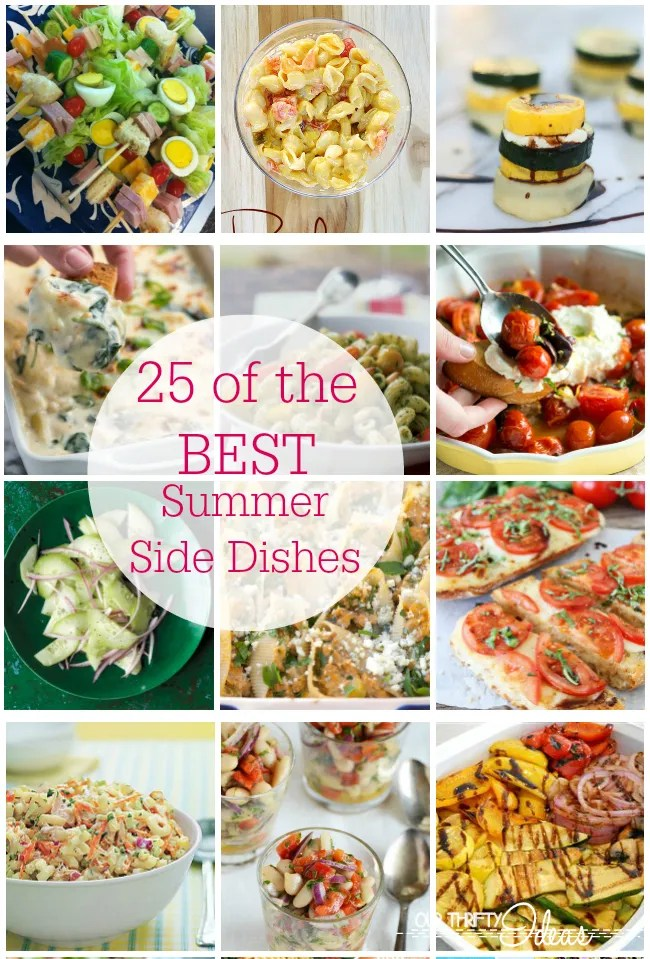 25 of the best Summer Side Dish recipes