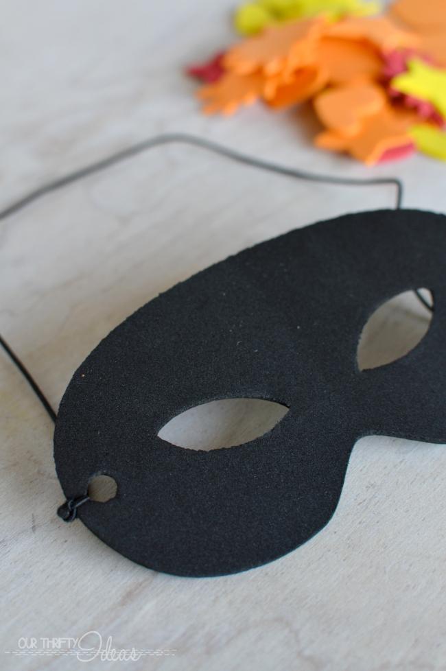 Diy Superhero Mask Our Thrifty Ideas
