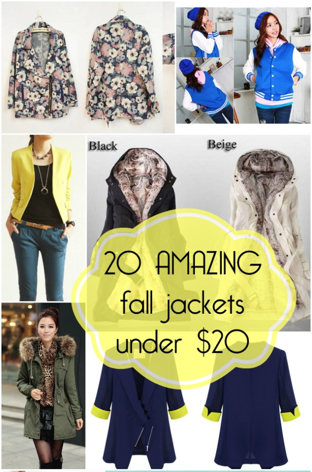 20 of the best fall jackets you can get for under $20