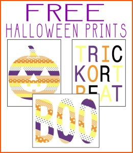 These Halloween printables are so cute. Made to look like they are from washi tape.