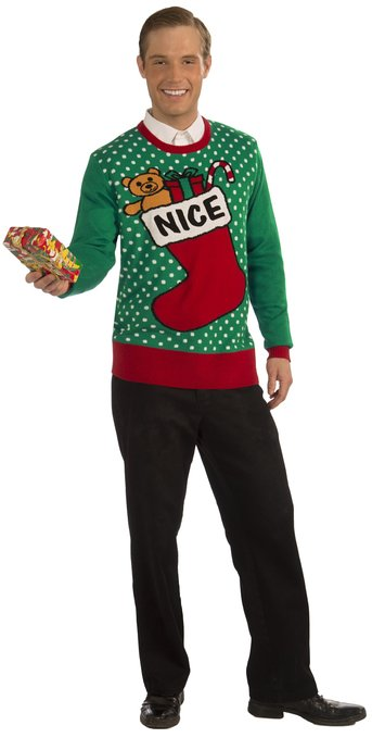 Nice/Stocking Ugly Sweater