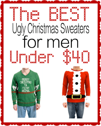 The Best Ugly Christmas Sweaters for men under $40