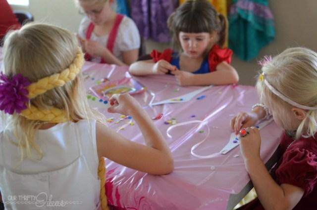 making princess crowns