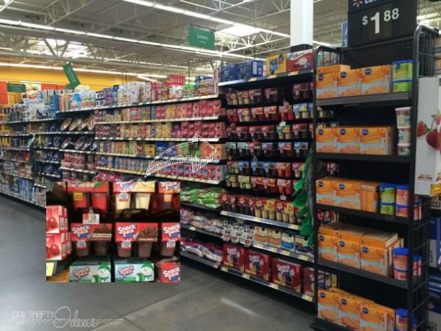 Snack Packs in Walmart