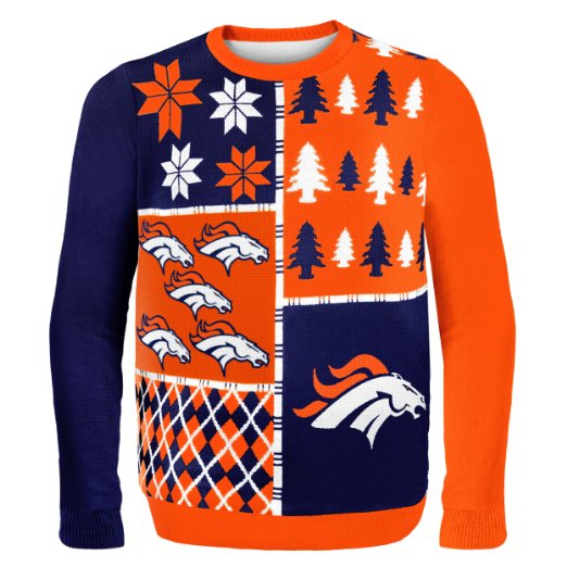 Broncos Ugly Christmas Sweater
