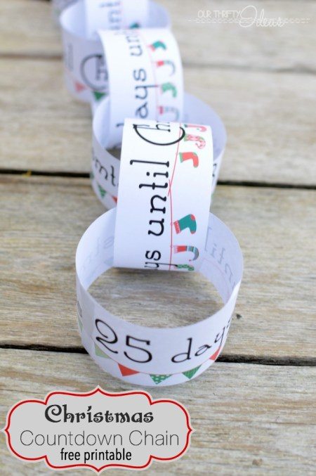 "Such a fun way to keep your kids excited, and NOT have to answer the ""how many days until Christmas"" question"