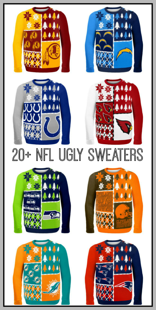 NFL Ugly Sweater Ideas Our Thrifty Ideas