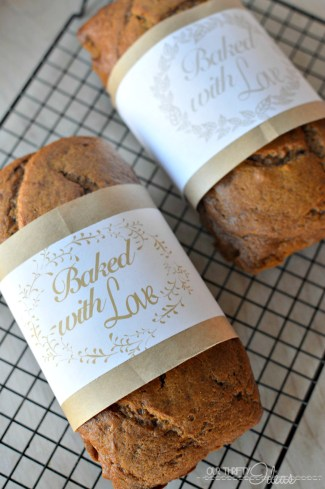 homemade bread wrappers