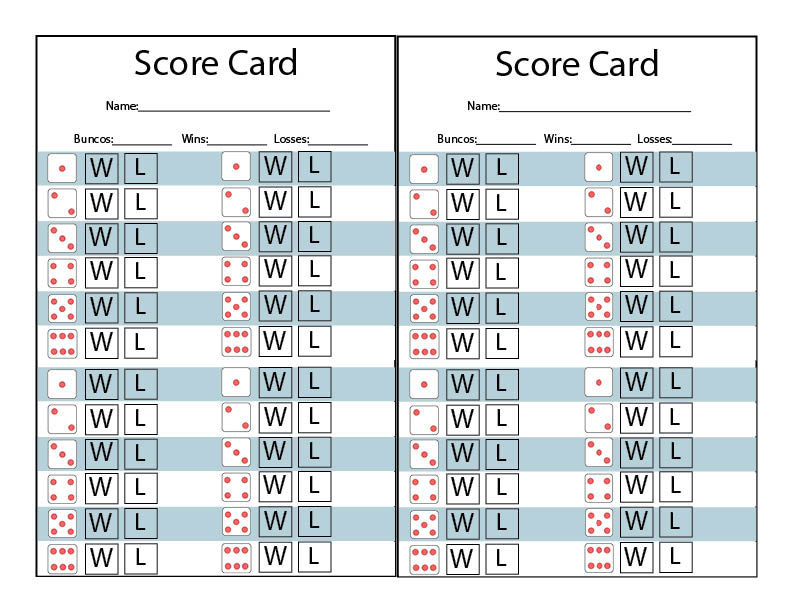graphic regarding Printable Bunco Cards titled Winter season Themed Bunco Printables - Our Thrifty Options