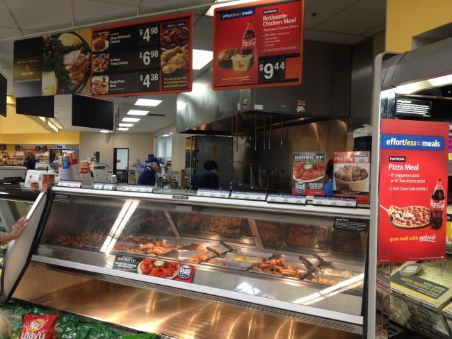 Tyson chicken wings at the Walmart Deli