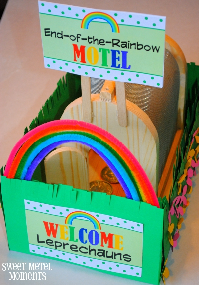 Leprechaun house trap and free printables